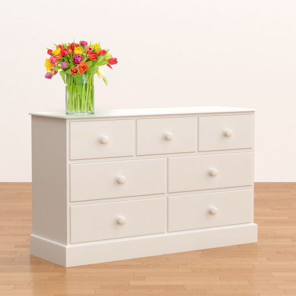 Classic 4+3 Wide Chest of Drawers