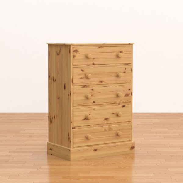 Classic 5 Drawer Chest of Drawers