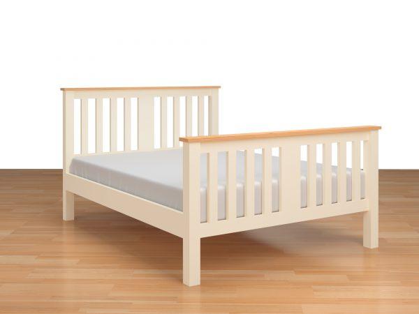 Highgate Bed In Buttermilk