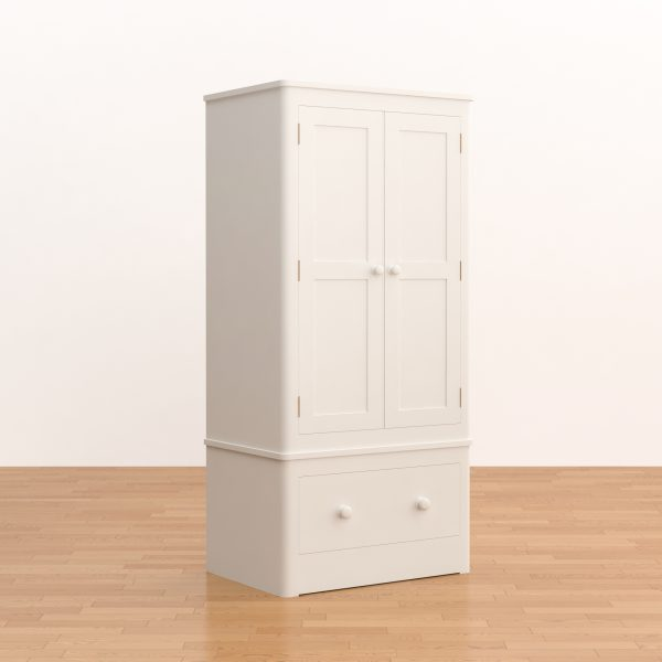 Kyoto Double Wardrobe with Drawer
