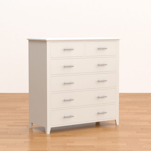 Shaker 4+2 Chest of Drawers