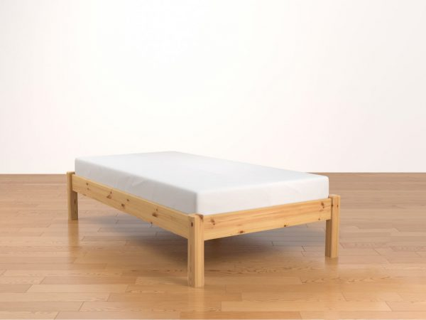 basic Wax Antique Single Bed