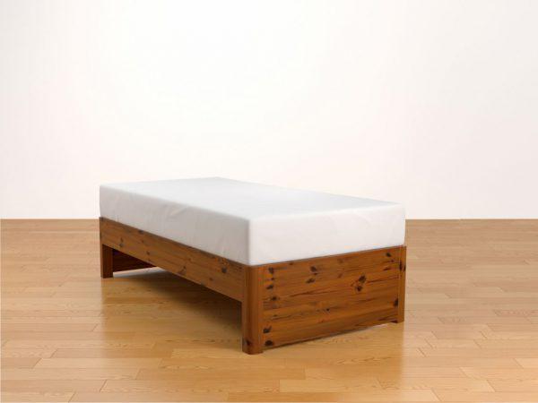 Kyoto Wax Oak Single bed