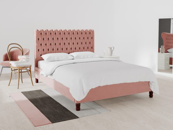 Cambridge Upholstered Frame Bed