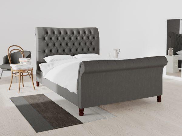 Hampstead Upholstered Frame Bed