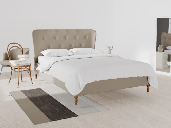 Kingston Upholstered Frame Bed