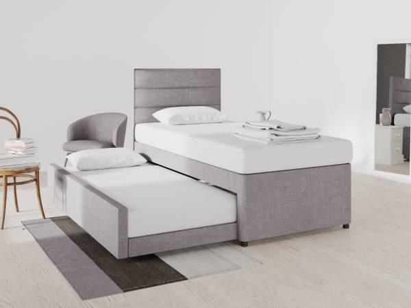 Wimbledon Upholstered Guest Frame Bed