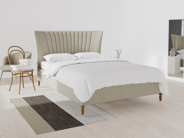 Windsor Upholstered Frame Bed