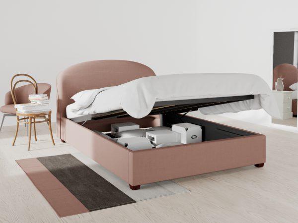 Camden Upholstered Ottoman Bed