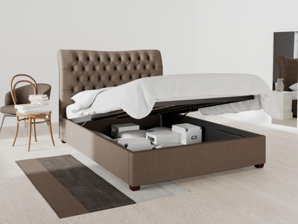 Hampstead Upholstered Ottoman Bed