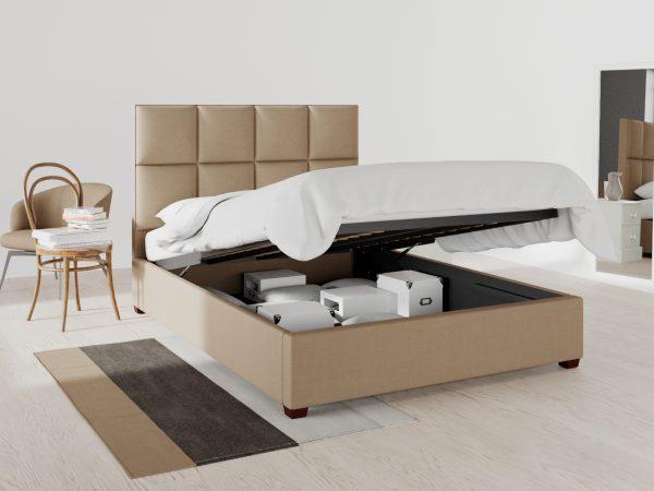 Hampton Upholstered Ottoman Bed