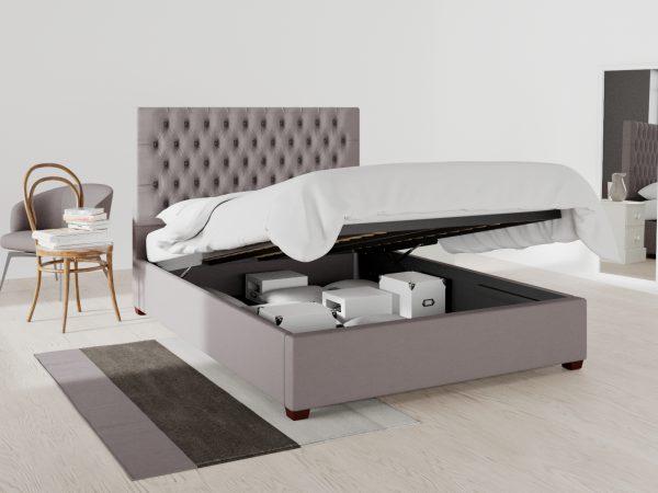 Highbury Upholstered Ottoman Bed