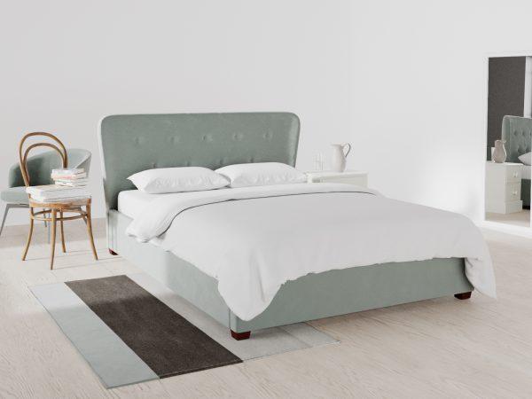 Kingston Upholstered Ottoman Bed
