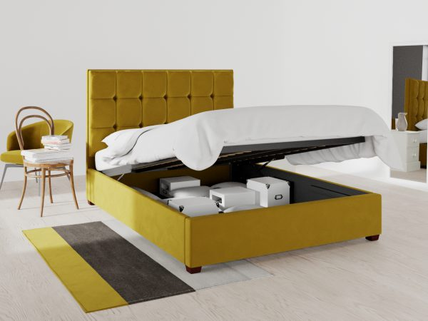 Mayfair Upholstered Ottoman Bed