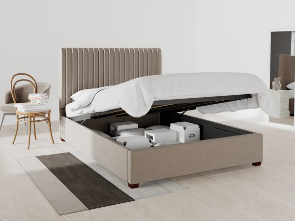 Richmond Upholstered Ottoman Bed